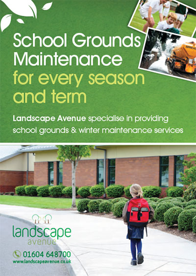 School grounds maintenance for every season and term