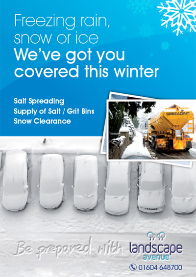 Freezing rain, snow or ice. We've got you covered this winter