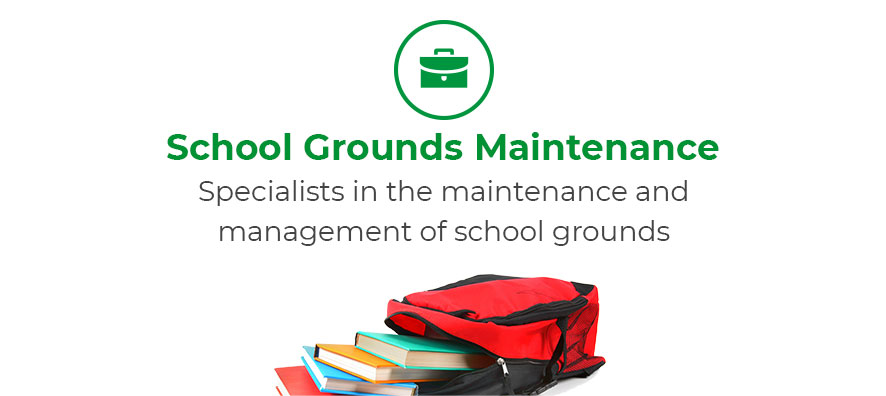 School grounds maintenance. Specialists in the maintenance and management of school grounds.