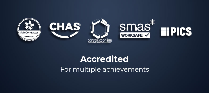 Accredited. For multiple achievements.
